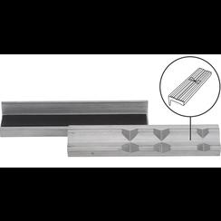 Bankschroef beschermbek  aluminium  breedte 125 mm  2-dlg