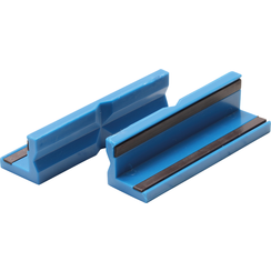 Bench Vice Jaw Protector  plastic  100 mm  2 pcs.