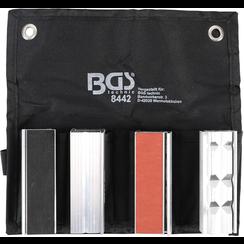 Bench Vice Jaw Protector Set  Aluminium  100 mm  8 pcs.