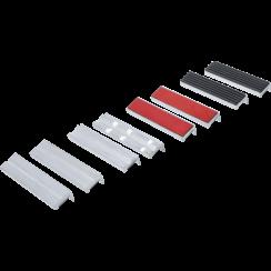 Beschermbekken-set voor bankschroef  125 mm  8-dlg