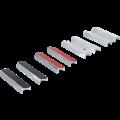 BGS  Technic Bench Vice Jaw Protector Set  Aluminium  125 mm  8 pcs.