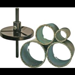 Tile Drill Bit Set  33 - 73 mm  6 pcs.