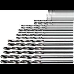 HSS Mini Drill Set  0.5 - 3.0 mm  25 pcs.