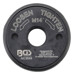 Quick Release Nut  for Angle Grinder  M14