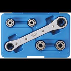 Tapeind uitdraaierset  6 - 12 mm  5-dlg