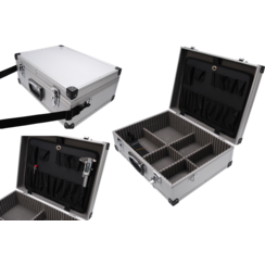 Aluminium gereedschapkoffer  460 x 340 x 150 mm