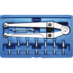 Face Pin Wrench Set  adjustable  Ø 2.5 - 9 mm