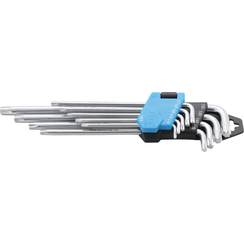 L-Type Wrench Set  extra long  T-Star (for Torx) T10 - T50  9 pcs.