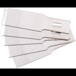 Spare Scraper Blades Set for BGS 364  0.6 x 12 mm  5 pcs.