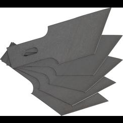 Spare Scraper Blades Set for BGS 364  0.6 x 16 mm x 53°  5 pcs.