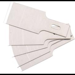 Spare Scraper Blades Set for BGS 364  0.6 x 16 mm  5 pcs.