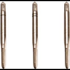 Draadsnijtapset  voor-, middel- en nasnijder  HSS-G  M3 x 0,5  3-dlg
