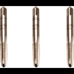 Draadsnijtapset  voor-, middel- en nasnijder  HSS-G  M6 x 1,0  3-dlg