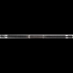 Draadvijl  binnen- en buitendraad  metrisch 0,80 - 3,00 mm