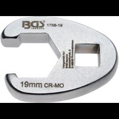 "Kraaienpootsleutel  10 mm (3/8"")  19 mm"