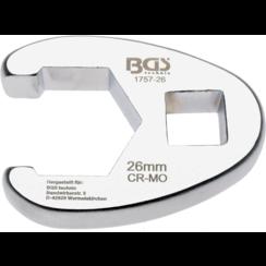 "Kraaienpootsleutel  12,5 mm (1/2"")  26 mm"