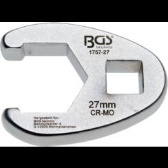 "Kraaienpootsleutel  12,5 mm (1/2"")  27 mm"
