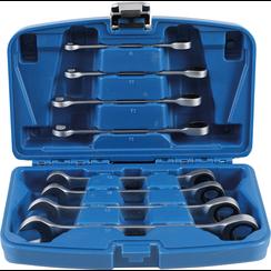 Ratchet Combination Wrench Set  8 - 19 mm  8 pcs.