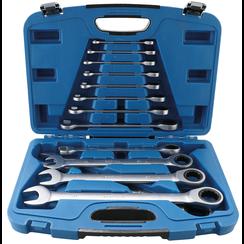 Ratchet Combination Wrench Set  8 - 32 mm  13 pcs.