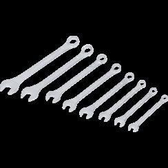 Steekringsleutelset  8 - 19 mm  8-dlg