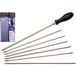 Screwdriver Set with interchangeable Blades  T-Star (for Torx) / TS-Star (for Torx Plus)  8 pcs.