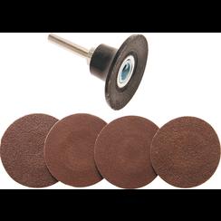 Grinding Wheels / Sanding Pad Set  Ø 50 mm