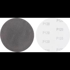 Sanding Pads Set  Grain Size 120  Silicone Carbide  10 pcs.