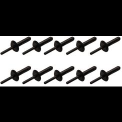 Kunststof popnagel voor BGS 8463  6,3 x 25,2 mm  10-dlg