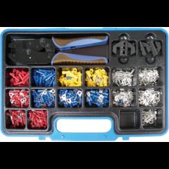 Crimping Pliers Set with Cable Lug Assortment  1000 pcs.