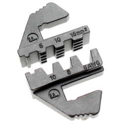 Crimping Jaws for large, insulated cord-end Terminals  for BGS 1410, 1411, 1412