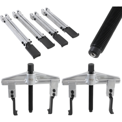 Universal Puller Set, 2-arm  35 - 130 mm  7 pcs.