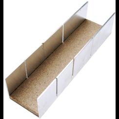 Aluminium Miter Box  245 x 65 x 55 mm