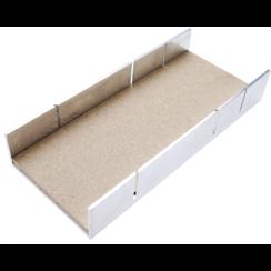 Aluminium Miter Box  245 x 106 x 44 mm