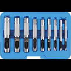 Holpijpset  3 - 12 mm  9-dlg