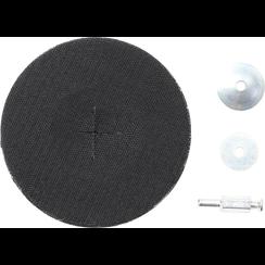 Steunschijf rubber  Ø 125 mm