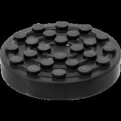 Rubberschijf  voor hefplatforms  Ø 123 mm