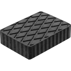 Rubber Pad  for Auto Lifts  160 x 120 x 40 mm