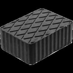 Rubberen pad  voor hefplatforms  160 x 120 x 60 mm