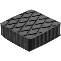 Rubber Pad  for Auto Lifts  116.5 x 116.5 x 36.5 mm