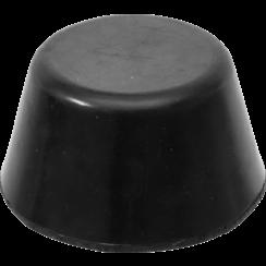 Rubberen pad  voor hefplatforms  Ø 105 mm