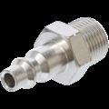 "BGS  Technic Air Nipple  10 mm (3/8"") external Thread USA / France Standard"