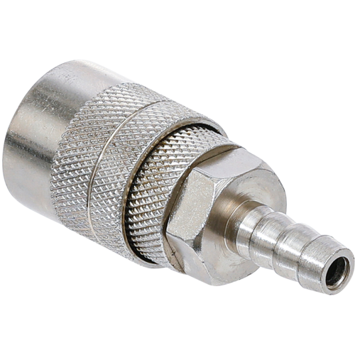 "BGS  Technic Air Quick Coupler with 8 mm (5/16"") Hose Connection  USA / France Standard"