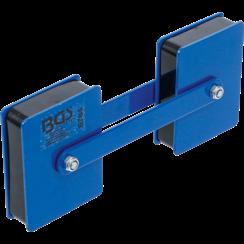 Kraft-dubbele magneethouder  hoek instelbaar  22,7 kg