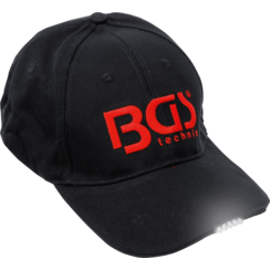 BGS Baseball Cap  with LED Lamp