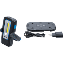COB LED Workshop Lamp with Magnet and Hook  foldable  with Wireless Charging function