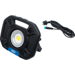 COB-LED-werkspotlamp  40 W  met geïntegreerde speakers