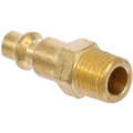 "BGS  Technic Air Nipple  6.3 mm (1/4"") external Thread  USA / France Standard"