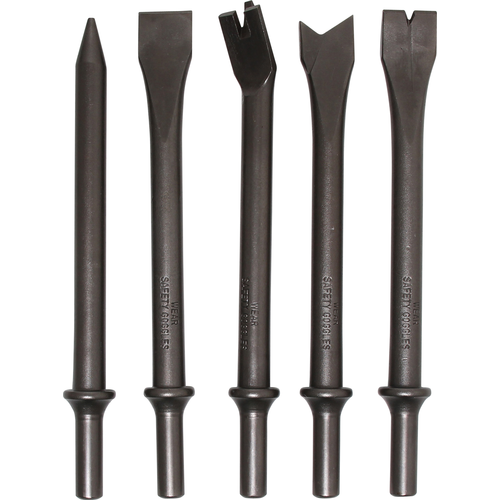 BGS  Technic Air Hammer Chisel Set  5 pcs.