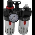 BGS  Technic Air Filter / Oiler Unit with Pressure Regulator