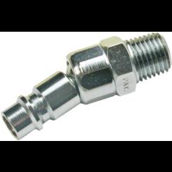 """Lucht insteeknippel met kogelkop  6,3 mm (1/4"""") buitendraad"""